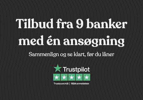 LendMe virksomhedslån fra 9 banker